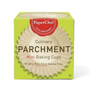Mini Parchment Baking cups- 12 Boxes of 90 Cups by Paper Chef