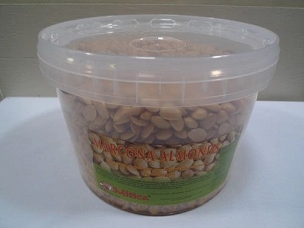 Mitica Spanish Marcona Almonds- 11 Lb Bulk Tub