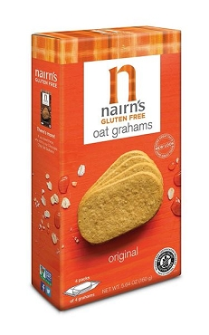 Nairn's Original Gluten Free Oat Grahams Cookies- Case Of 12 Boxes - 5.64 Oz.Ea