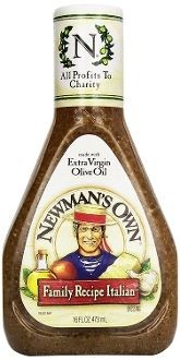 Newman's Own Family Recipe Italian Salad Dressing -6 Pack