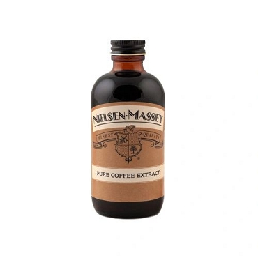 Nielson Massey Coffee Extract, 4 oz Glass, 6 Bottles
