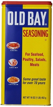 Old Bay Original Seasoning, 16 oz Tin- 2 Pack