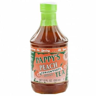 Pappy's Ancient Infusions Peach Tea Concentrate 12 Oz (Pack of 6)