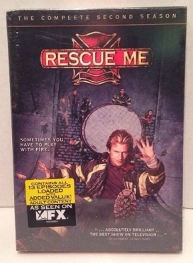 Rescue Me: Season 2 ,DVD Set, unopened box, FREE SHIPPING