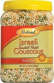 Roland Israeli Tri-color Couscous, 21.16 OZ - 4 Pack