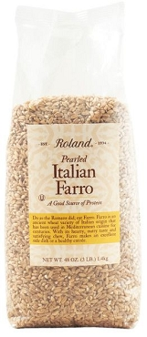 Roland Pearled Farro(wheat), 3-Pound Bag