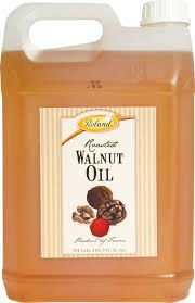 Roland Roasted Walnut Oil from France, 5 Liter Jug