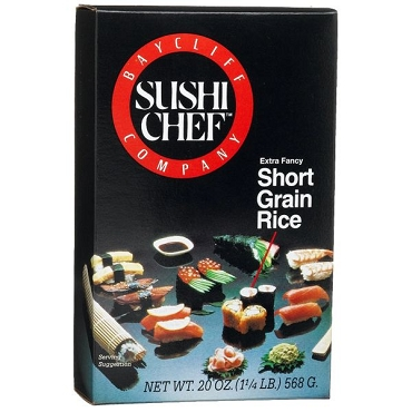 Sushi Chef Sushi Rice 20 oz Boxes - 6 Pack