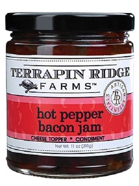 Terrapin Ridge Hot Pepper Bacon Jam - 11 Oz - 6 Pack