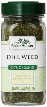 The Spice Hunter brand Organic Dill Weed, 0.5 Oz (Pack of 6)