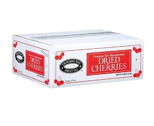 Traverse Bay Dried Tart Cherries, 4 Lb Box