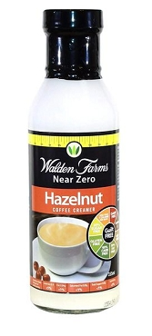 Walden Farms Calorie-Free Hazelnut Coffee Creamer, 12 Oz (Pack of 6 Glass Bottles)