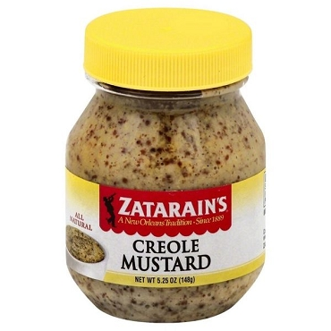 Zatarain's Creole Mustard 5.25 oz - Case of 12