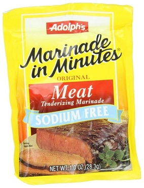 Adolph's Sodium Free Meat Tenderizing Marinade, (12 Pack)