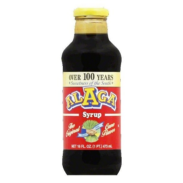 Alaga Syrup, 16 Oz Glass Bottles, Pack of Two Bottles