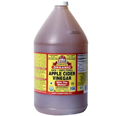Bragg Organic Raw Unfiltered Apple Cider Vinegar 1 Gal (128 oz)