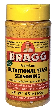 Bragg Premium Nutritional Yeast Seasoning 4.5 Oz., Pack of 5