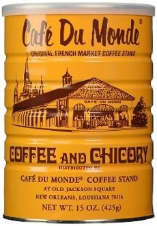 Cafe Du Monde Coffee Chicory Blend, 15-Oz - 6 Cans