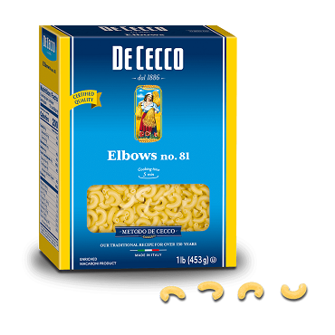 De Cecco  Elbow Macaroni , Pack of Six 1 LB boxes