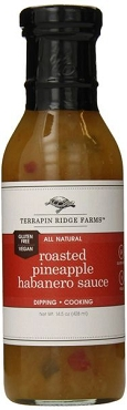 Terrapin Ridge Farms Roasted Pineapple & Habanero Sauce, 6 Pack
