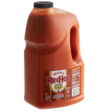 Frank's Red Hot Buffalo Sandwich Sauce, One Gallon Jug(128 OZ(Case Pack of 2)