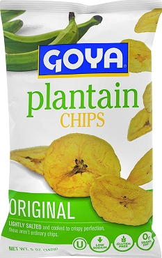 Goya Foods Plantain Chips (Platanitos), 5 OZ Bags(Pack of 12)