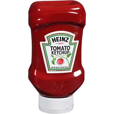 Heinz Ketchup (20 oz Bottles, Tamper Proof Cap-Case of 30)