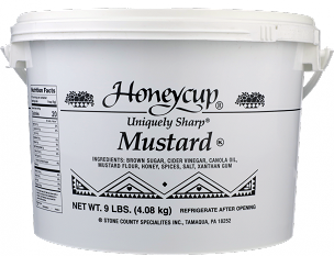 Honeycup Uniquely Sharp Mustard - 9 LB Bulk Pail