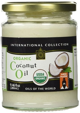 International Collection Organic Coconut Oil - 9.46 Oz - 6 Pack