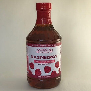 Pappy's ANCIENT INFUSIONS RASPBERRY TEA CONCENTRATE, 6 Pack