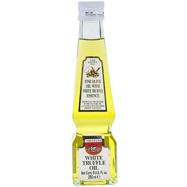 Urbani White Truffle Oil, Large 8 Oz Glass Bottle