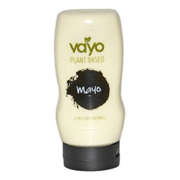 Vayo Plant-Based Original Vegan Mayonnaise, Case of Eight 11 Oz Bottles