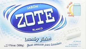 Zote Blanco Laundry Soap Flakes 17.6 oz, (500g), Two Boxes