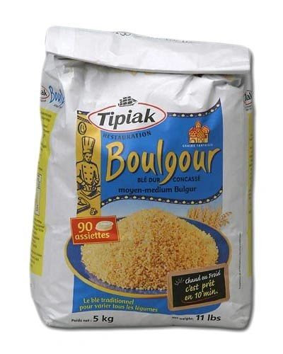 Tipiak French Bulgur Wheat, 11 Pound (5K) Package