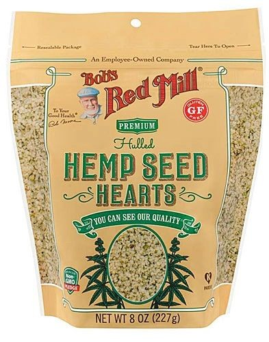Bob's Red Mill Hulled Hemp Seed Hearts, 4 Pack of 12 Oz Bags