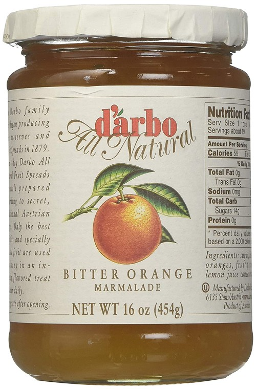 D'arbo All Natural Bitter Orange Marmalade