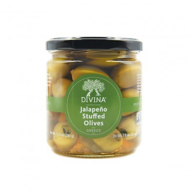 Divina Olives Stuffed with Jalapeno