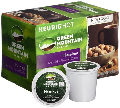 Green Mountain Hazelnut Coffee K-Cups 12 CT (Pack of 6) 72 cups!