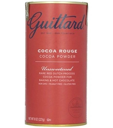 Guittard Chocolate Cocoa Rouge Cocoa Powder, 8 oz- 6 Pack