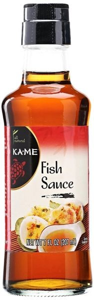 Kame Fish Sauce., 7 oz, Pack of 6
