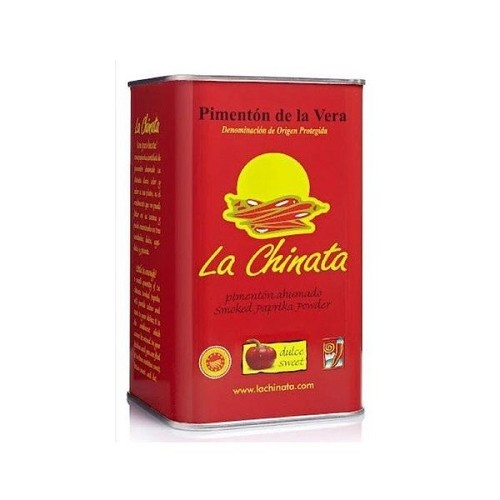 La Chinata Sweet Spanish Smoked Paprika - Food Service Size 26.46 Oz Tin