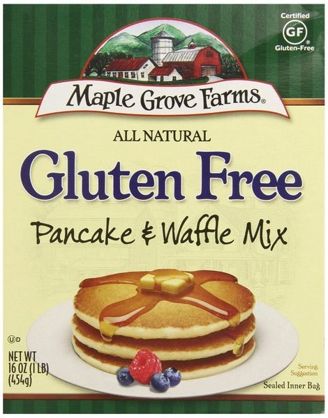 Maple Grove Farms Gluten Free Pancake & Waffle Mix, pack of 8