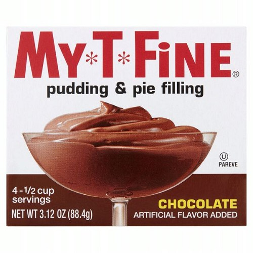 My-T-Fine Chocolate Pudding & Pie Filling