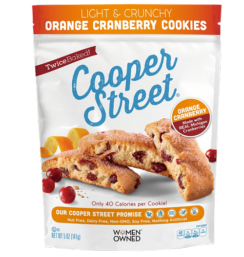 Cooper Street Orange Cranberry Cookies