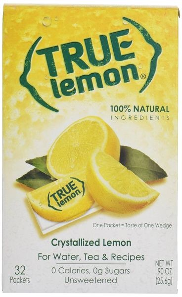 True Lemon Crystallized Lemon Mix, 32 Packets per Box (Case of 12)