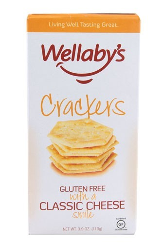 Wellaby's Crackers Classic Cheese, 3.9 Ounce (Pack of 6)